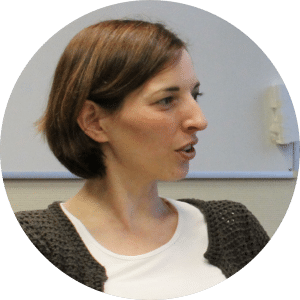 Agile Trainerein Christina Merz